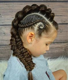 braid hairstyles hairstyles little girl hairstyles to do on yourself hairstyles man bun braided hairstyles hairstyles on short natural hair hairstyles 2 braids braid and curls Baby Girl Hairstyles, Pretty Hairstyles, Braided Hairstyles, Braided Locs, Teenage Hairstyles, Hairstyles Videos, Hairstyles 2018, Beautiful Hairstyle For Girl, Curly Hair Styles