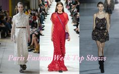 To Read with Tea.: Paris Fashion Week Shows Part 2