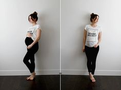 Des leggings de maternité en 10 minutes