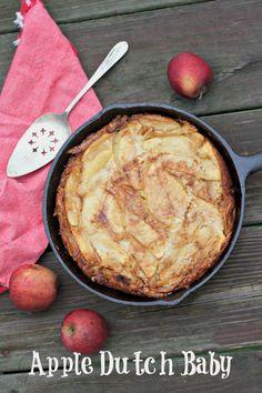 Apple Dutch Baby, A Pennsylvania Dutch Pancake