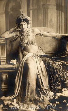 Images / art for my studio decoration Mata Hari, a spy and a dancer 1871-1917