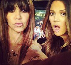 Kardashian 's...grrrrreat hair!