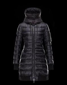 moncler jacke preis, jacke kaufen Moncler CHAMBLY Damen Mantel Für Sie  Schwarz Polyamid 41466459FL online b7493821362