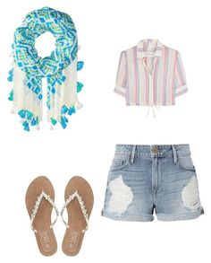 """Sans titre #477"" by stylesforstars on Polyvore featuring Vera Bradley, Frame, M&Co et Solid & Striped"