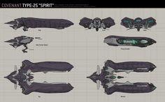 Alien Spaceship, Spaceship Design, Spaceship Concept, Space Ship Concept Art, Concept Ships, Halo 5, Aliens, Halo Ships, Halo Armor