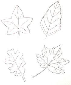 Blog on pinterest - Feuille automne dessin ...