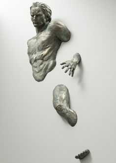WALL SCULPTURE Observe, Inspired by Matteo Pugliese / Custom Hand Made 180cm by AmazingSculptures on Etsy