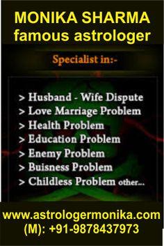 www.astrologermonika.com +91-9878437973