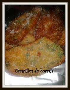 cocina_sos_antonia: CRESPILLOS DE BORRAJA CON MIEL DE TOMILLO DE ANTONIA