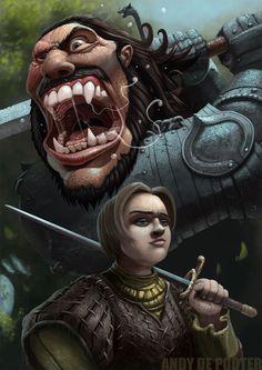 game of thrones art screaming