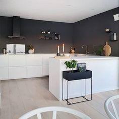 U Shaped Kitchen Kitchen Room Design, Kitchen Wall Colors, Home Decor Kitchen, New Kitchen, Kitchen Interior, Home Interior Design, Home Kitchens, Kitchen Dining, U Shape Kitchen