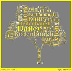 Surname Saturday: DAILEY #geneabloggers #genealogy