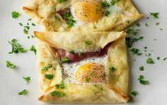 Κρέπες «φακελάκι»: Δες τα αυγά με άλλο μάτι