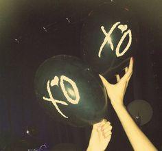 ☆ RobsGirlJal @ Pinterest ☆ The Weeknd | XO | Balloons