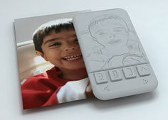 Braille touch screen smart phone for the blind