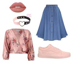 Diana by larissa-teles on Polyvore featuring polyvore Sans Souci Vans Lime Crime fashion style clothing