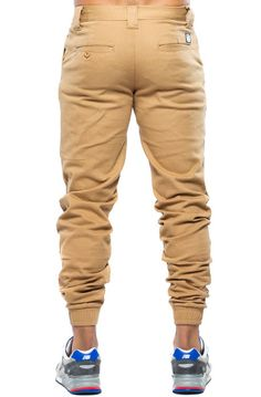 The Presley Joggers in Camel