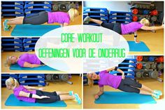 Core Workout - Oefeningen voor de Onderrug - YouTube