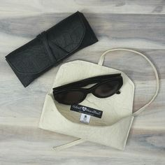 Jackie - Pineapple leather vegan sunglasses case made from Piñatex - www.velvetheartbeat.com Pineapple Leather, Hello Summer, In A Heartbeat, Purses And Bags, Sunglasses Case, Fashion Accessories, Pouch, Velvet, Men's Jewellery