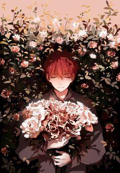Nhắm lại đôi mắt, mở lại tâm hồn, rốt cuộc, mình đã làm gì để lãng phí những ngày qua có em bên cạnh ? Manga Anime, Manga Boy, Image Manga, Cute Anime Guys, Anime Boys, Flower Boys, Boy Art, Anime Scenery, Anime Art Girl