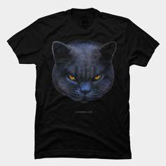 Cross Cat T Shirt By #StrangeStore - Design By Humans