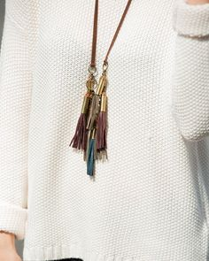 Tassel Garland Necklace - JewelMint