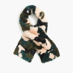 Love this: Collection Faux-fur Camo Scarf @Lyst