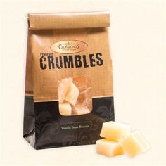 Vanilla Bean Biscotti Fragrant Crumbles - Set of 2
