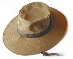 Wax Cotton Hat by Watership Hats a97fc0aca72