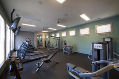 Our fully equipped Fitness Center is open 24 hours a day, and the perfect place to work on your healthy goals!