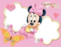 "Képtalálat a következőre: ""baby minnie png"" Baby Mickey, Mickey Minnie Mouse, Disney Mickey, Disney Art, Scrapbook Bebe, Retro Disney, My Little Pony Baby, Disney Babys, Autograph Book Disney"