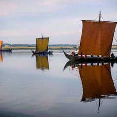 ...::: Scandinavian Longships :::... #Norse #Viking #vikings #landofthevikings #Njörður #haf #fjordúr #fjallað #skógur #longship #Langskip #drageskip #scandinavia #Norway #Sweden #Denmark #Iceland #roskildevikingeskibsmuseum #childrenofodin