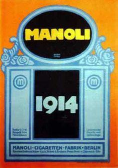 Manoli – Lucian Bernhard – Alemania (1914)