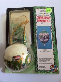 NIB Vintage Miniature Mini Chinese Palace Hanging Tassel Lantern Ornament Taiwan