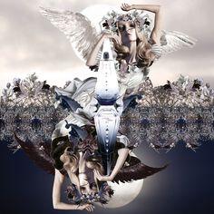 ange ou démon/givenchy by Maren Esdar #marenesdar #givenchy #parfum #collage #inspiration #parfumgefluester #blog