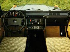 Interior Mercedes-Benz 280 GE LWB (W460) '1979–90