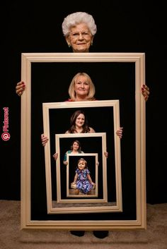 How To Make Generational Family Photos « Beatiful Gift Generation Pictures, Generation Photo, Creative Photography, Family Photography, Photography Poses, Creative Photos, Cool Photos, Big Family Photos, Pinterest Photography