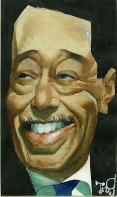 The Handsome and Legendary Duke Ellington - artist Unknown