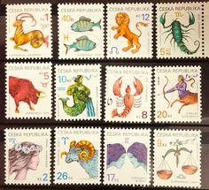 12星座切手(チェコ共和国 1999年)                                                                                                                                                                                 もっと見る