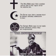 Y'all need Satan!   http://ift.tt/1QqTysF via /r/funny http://ift.tt/24fp4El  funny pictures