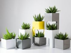 Series of Cliff by TREE SQUARE #treesquarestudio #planter #furniture #design treesquare.studio@gmail.com