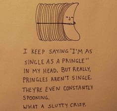 Slutty crisp! this just cracked me up