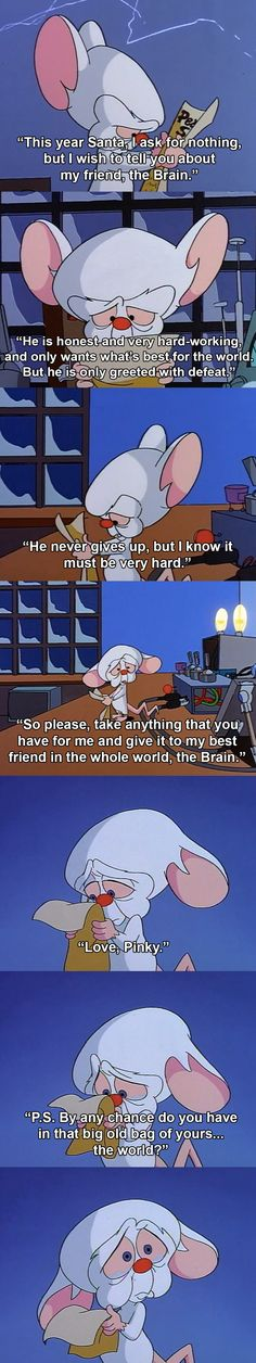 The best moment in Pinkie and the Brain