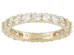 Stratify(Tm) 2.85ctw Round White Topaz 18k Yellow Gold Over Sterling Silver Ring Erv $88.00
