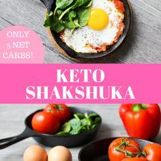 Keto Shakshuka – Sausage. Peppers. Eggs. Cheese.