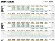 27 best project schedule template images on pinterest schedule