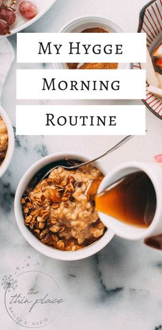 My Hygge + Faith Morning Routine - The Thin Place #hygge #faith #christian #morning #routine