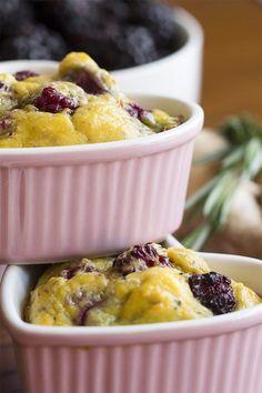 Blackberry Egg Bake - Keto Egg Bake Recipe
