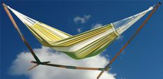 Dunes hammock XL lime in the Madeira hammock stand : Quality Hammocks and Hanging Chairs, Marañon World of Hammocks Hammock Stand, Outdoor Furniture, Outdoor Decor, Dune, Hanging Chairs, Hammocks, World, Home Decor, Collection