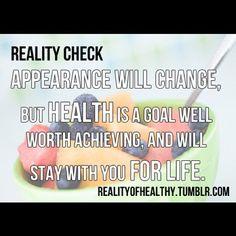 Reality check.
